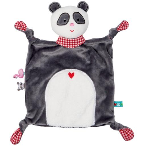 Spiegelburg Baby Glück Schnuffeltuch Panda