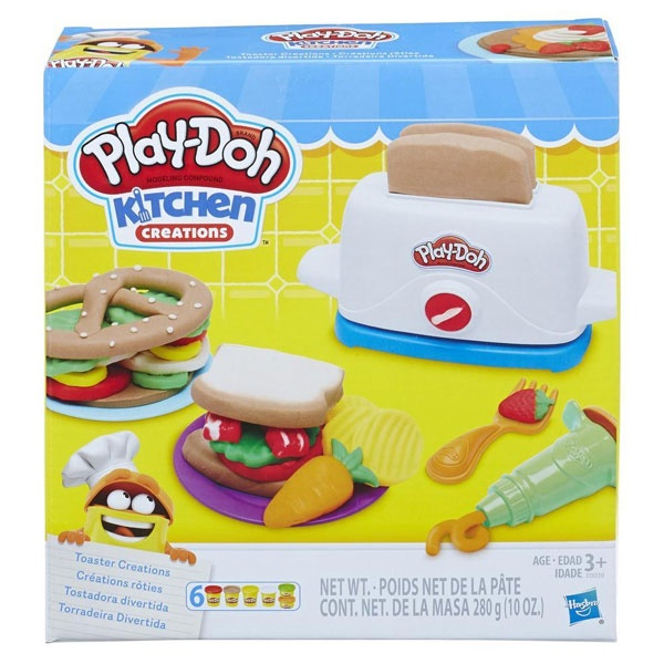 Play Doh Toaster Kitchen Creations