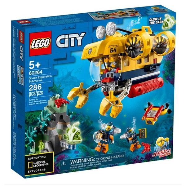 Lego City 60264 Meeresforschungs-U-Boot