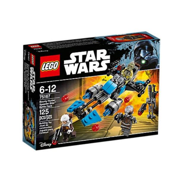 Lego 75167 Star Wars  Bounty Hunter Speeder Bike
