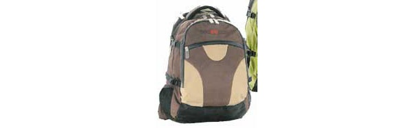 Take it Easy Basic braun Schulrucksack Transporter