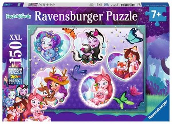 Ravensburger Puzzle Enchantimals und ihre Begleiter