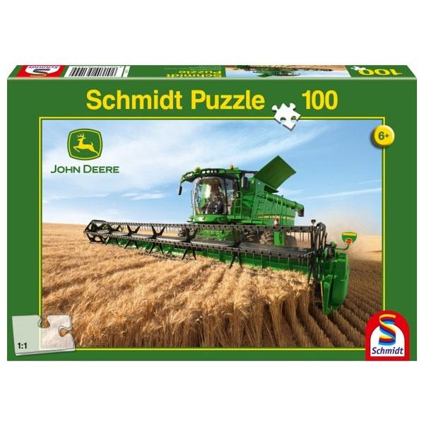 Puzzle John Deere Mähdrescher S690  100 Teile