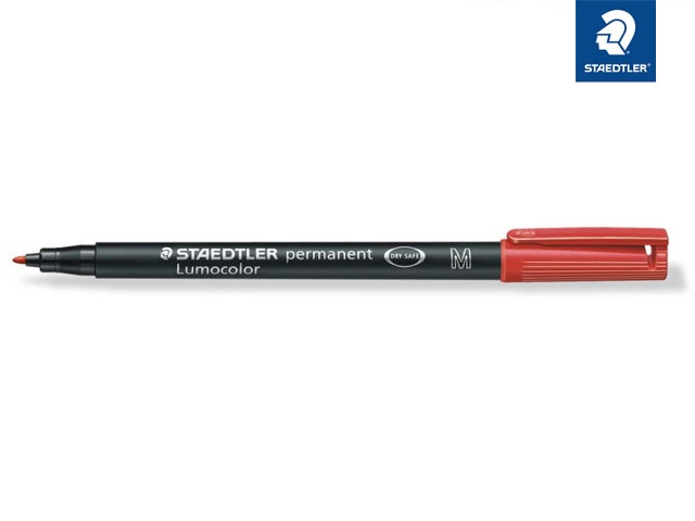 Staedtler permanent M rot