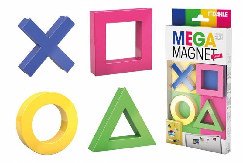 Dahle Mega Magnet mini 4 Stück Packung