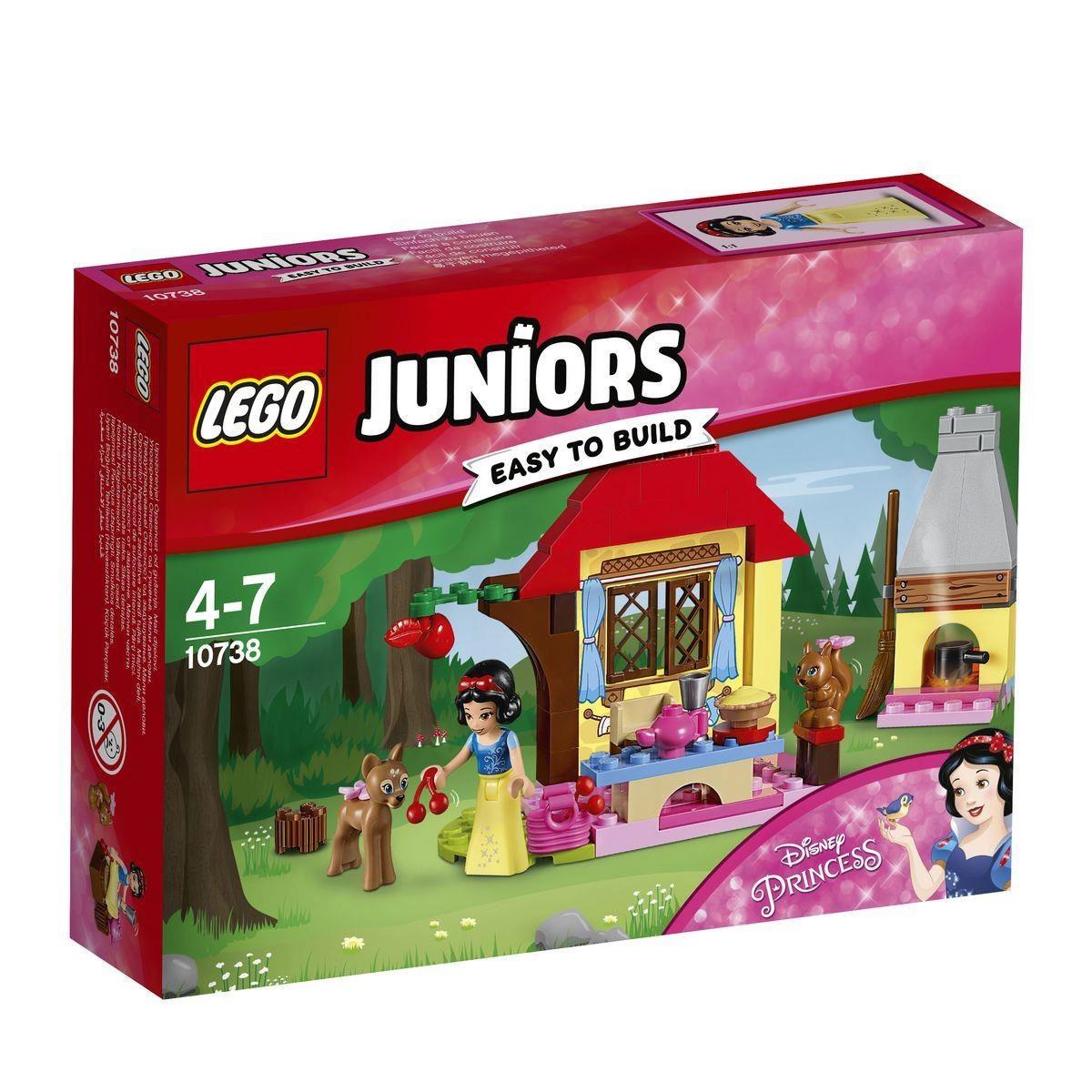 Lego Juniors 10738 Schneewittchens Waldhütte