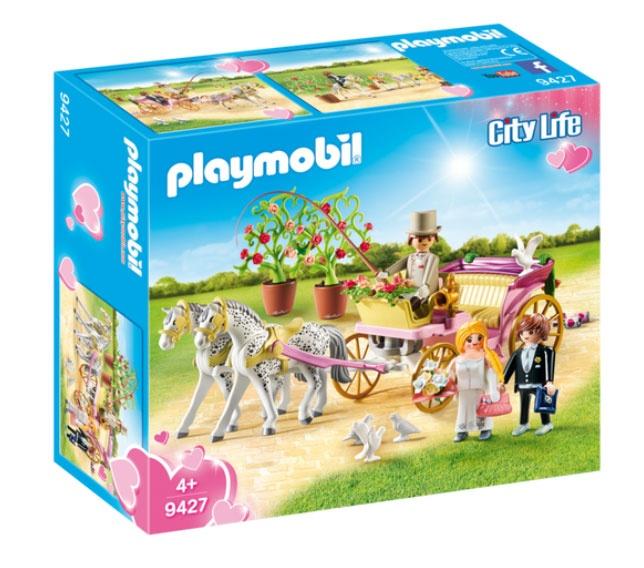 Playmobil 9427 City Life Hochzeitskutsche