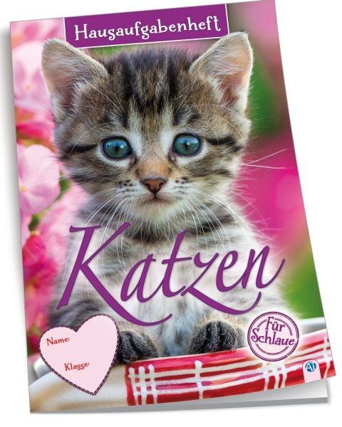 Hausaufgabenheft Color für Schlaue Katzen