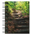 Hardcover-Spiralbuch A7 Steintreppe