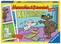 Ravensburger Mauseschlau & Bärenstark XL Bewegungs-Domino