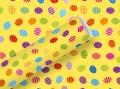 Geschenkpapier Ostern Ostereier gelb