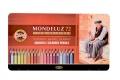 KOH-I-NOOR Mondeluz Künstler Aquarell-Farbstifte 72 Stück