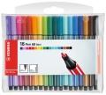 Stabilo Pen 68 mini Fasermaler 18 Stück Packung