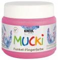 Mucki Fingerfarbe Feenstaub-Rosa