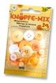 Folia Bastelmaterial Knöpfe-Mix Ton in Ton gelb