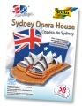 Bastelset 3D Modellogic Opera House Sydney 58 Teile