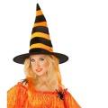 Kostüm-Zubehör Hexenhut Haare orange