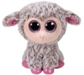 Beanie Boo`s Lamm Dixie grau/pink 15 cm
