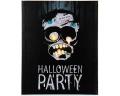 Halloween Bild mit Beleuchtung Monster