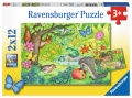 Ravensburger  Puzzle Tiere in unserem Garten 2 x 12 Teile