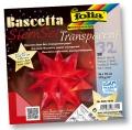 Folia Bastelset Bascettastern rot 15 x 15