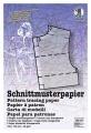 Schnittmusterpapier 5 Bogen a 100 x 150 cm