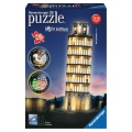 Ravensburger 3D Puzzle Pisa bei Nacht 216 Teile