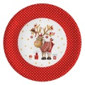 Partyteller Weihnachten Glücklicher Hirsch