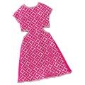 Barbie Kleid 2 pink/silber