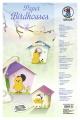 Bastelmappe Paper Birdhouses Küken