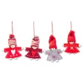Weihnachtswichtel Anhänger 4fach sortiert