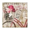 Servietten Carte Postale Paris 33x33