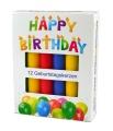 Geburtstagskerzen 12 Stück