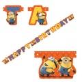 Minions Partykette Happy Birthday