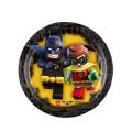 Partyteller Lego Batman 8 Stück 18 cm