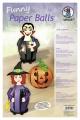 Halloween Bastelset Paper Balls Scary stories