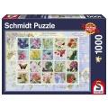 Puzzle Nostalgie-Briefmarken 1000 Teile