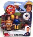 Feuerwehrmann Sam Figuren Sam und Arnold