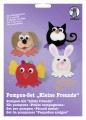 Pompon-Set Kleine Freunde Haustiere