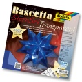 Folia Bastelset Bascettastern blau 20 x 20