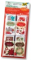 Folia Briefmarken-Sticker X-Mas