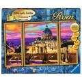 Ravensburger Malen nach Zahlen Romantisches Rom