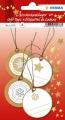 Herma Geschenkanhänger Weihnachten  gold