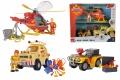 Fireman Sam Komplett-Set Wallaby+Mercury+Toms Geländewagen