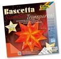 Folia Bastelset Bascettastern orange 30 x 30