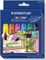 Staedtler Noris Club Gelmalstifte Effect Colors Basic 6 St