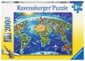 Ravensburger Puzzle Große weite Welt 200 Teile