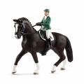 Schleich Horse Club Springreiterin mit Pferd 42358
