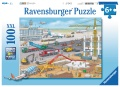 Ravensburger Puzzle Baustelle am Flughafen 100 Teile XXL