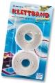 Folia Bastelband Klettband weiß selbstklebend 20 mm x 2 m